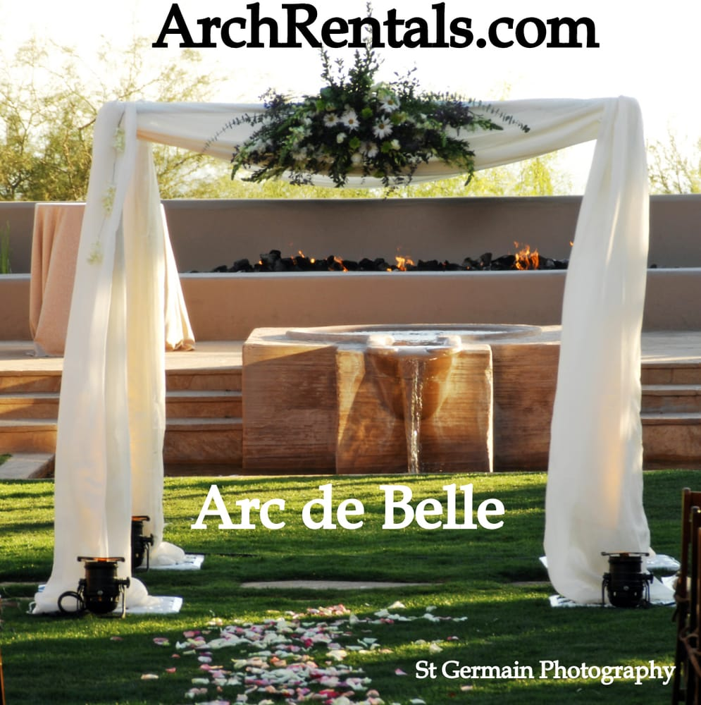 Wood Wedding Altar Canopy Rentals Los Angeles Orange: Photos For Arc De Belle