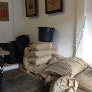 Pre-remodel: care for a nice big bag of coffee beans??