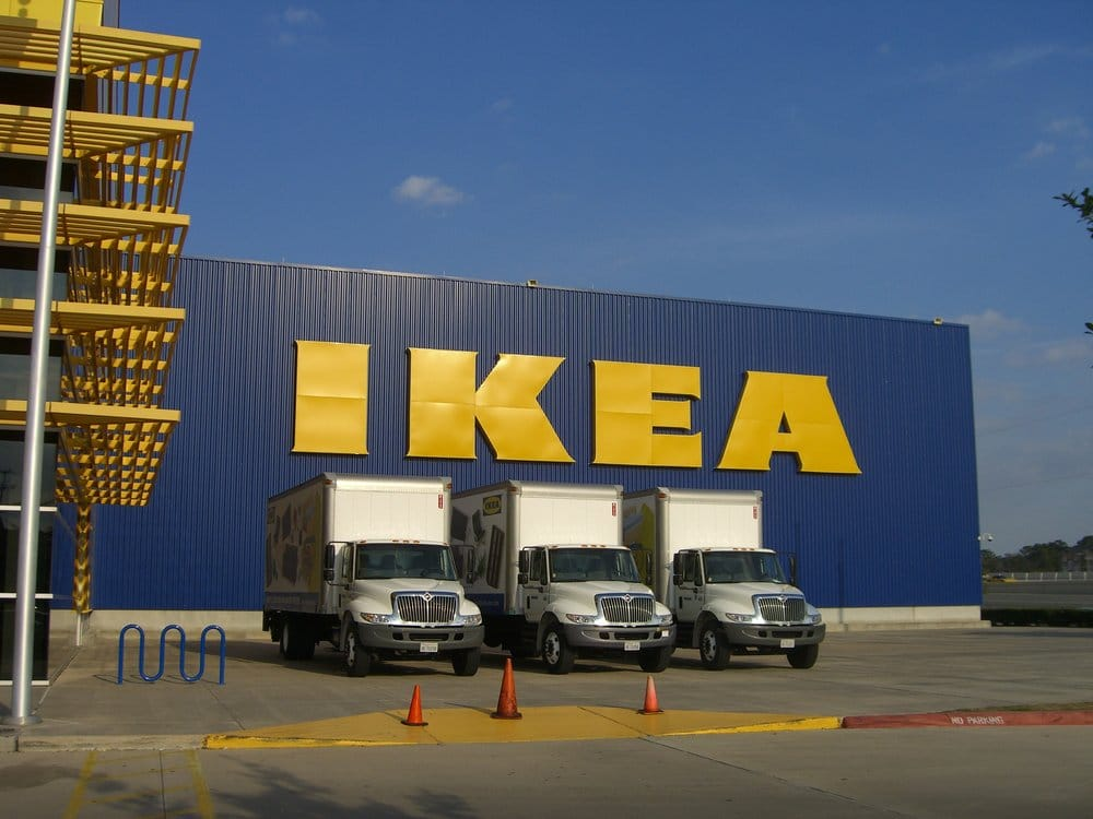 bluebag drives to ikea houston every wednesday your ikea orders paid by monday gets delivered. Black Bedroom Furniture Sets. Home Design Ideas
