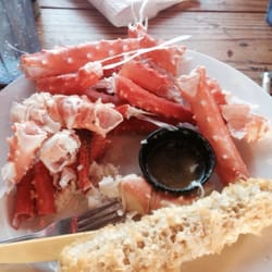 Joe's Crab Shack - King crab had no chance today lol - Redondo Beach, CA, Vereinigte Staaten