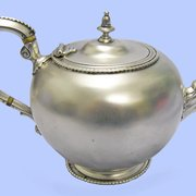 Sterling Silver Teapot, 1879 by Houle…