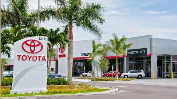 Photos For Germain Toyota Of Naples Yelp