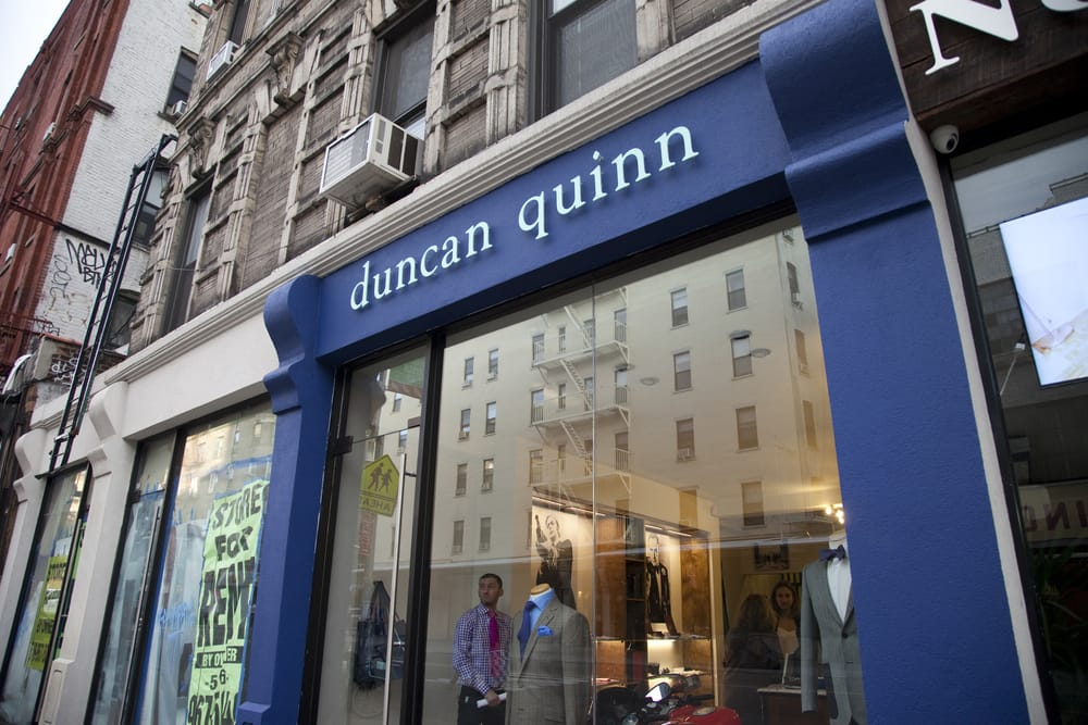 Duncan (OK) United States  city photos gallery : Duncan Quinn Men's Clothing Little Italy New York, NY, United ...