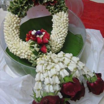 how to make garland with jasmine