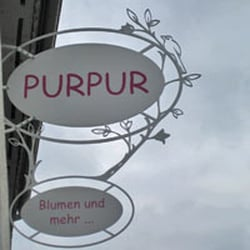 Purpur Blumen, Roßdorf, Hessen