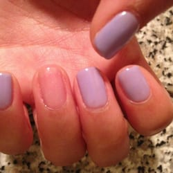 Elegant Nails and Spa - New York, NY, United States. OPI Gel Manicure