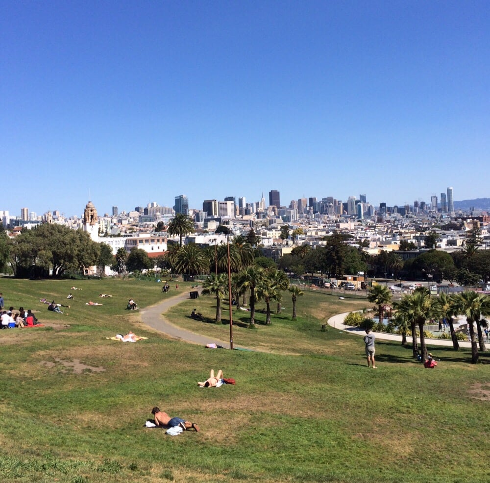 dolores park parken castro san francisco ca. Black Bedroom Furniture Sets. Home Design Ideas