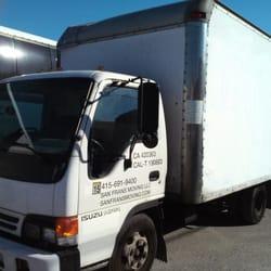 San Frans Moving - San Francisco, CA, États-Unis. 16ft box truck