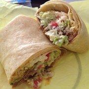Burrito Express - JVC Burrito with beef - Pasadena, CA, Vereinigte Staaten