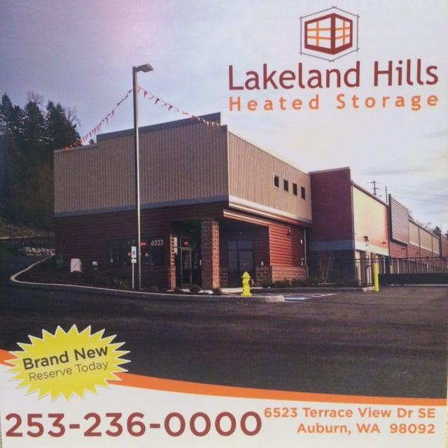 Lakeland Hills Heated Storage Self Storage Auburn Wa
