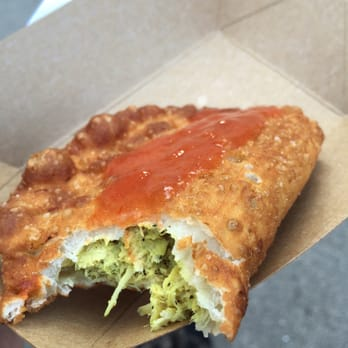 ... Eats - New York, NY, United States. Coconut curry chicken empanada