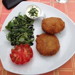 Gemüselaibchen mit Knoblauchsauce und…