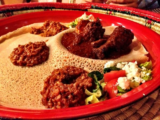 Doro Wat With Quick Injera Recipes — Dishmaps