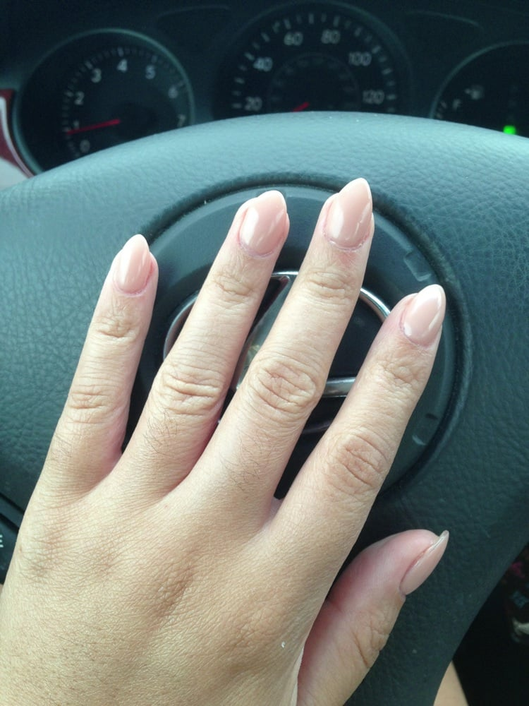 Zire Nails - Austin, TX, United States. Overlay with shellac #90