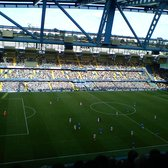 view from west stand upper during the chelsea vs stoke game.