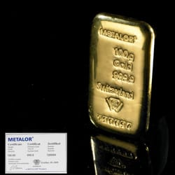 Bestselling 100g Gold Bar available at…