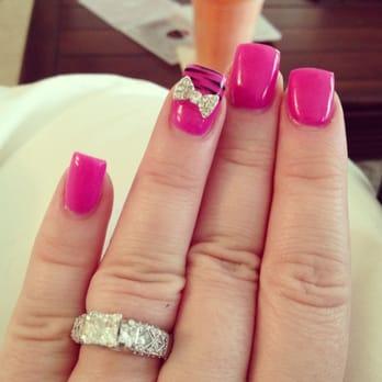 Hollywood nails 19 photos 14 reviews nail salons for 3d nail salon cypress tx