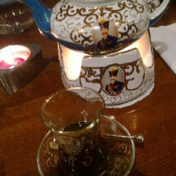 Delicious mint tea, Persian style