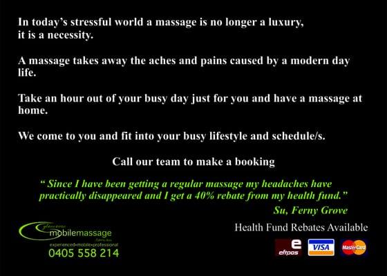 massage s Brisbane
