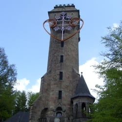 Kaiser-Wilhelm-Turm, Spiegelslustturm, Marburg, Hessen, Germany