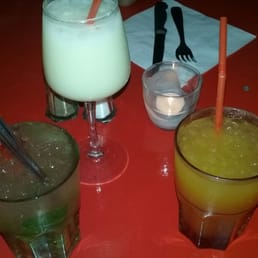 Mojito, Pina Colada, cocktail mangue. Et fiac !!