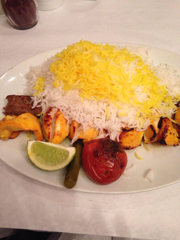 Chicken breast kabobs beef koobideh kabobs yelp for Alborz persian cuisine