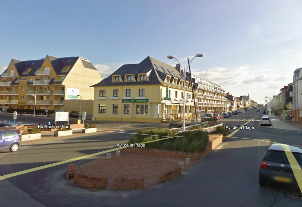La chipaudi re h tel fort mahon plage somme france for Appart hotel fort mahon