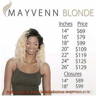 Your virgin hair for ur appt www latashakutour 173 mayvenn com yelp