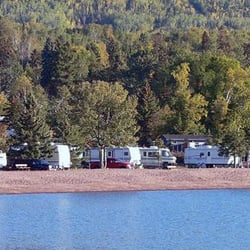 Grand marais municipal rv park camp ground camping for Camping camp municipal au jardin