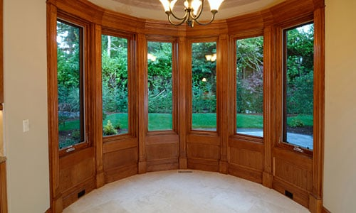 plano tx united states interior bay window stained wood trim. Black Bedroom Furniture Sets. Home Design Ideas