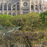Le Louchébem - Paris, France. La vue depuis la terrasse