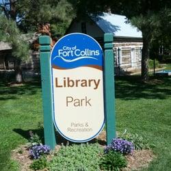 Library Park logo