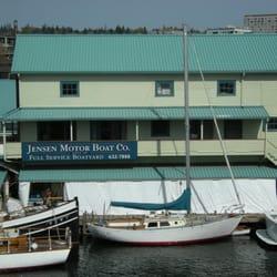 Jensen Motor Boat Corporation Boat Repair Seattle Wa