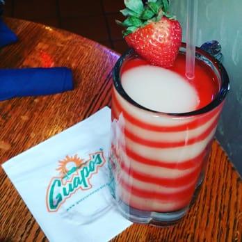 Guapos Menu Drinks