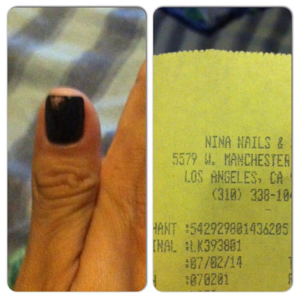 Nina nails nail salons westchester reviews yelp for 24 hour nail salon los angeles