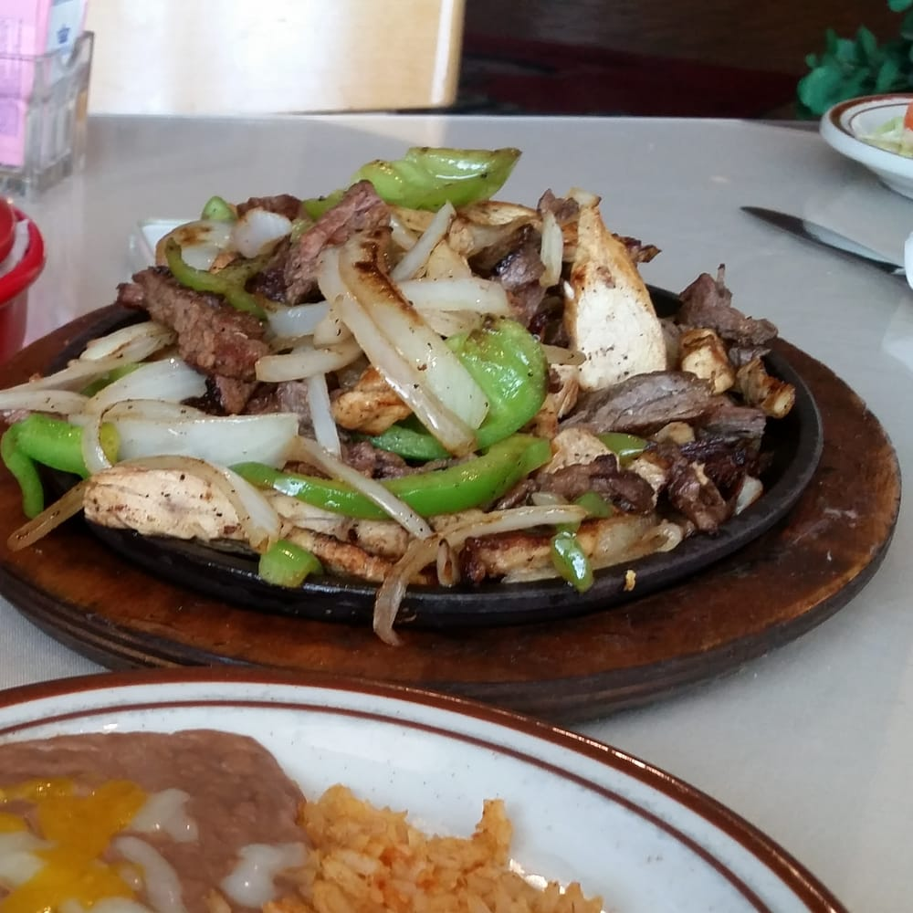 Danielitas Mexican Kitchen - The fajita skillet for two. Such a generous portion. - Arlington, TX, United States