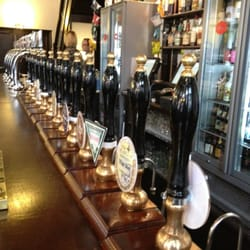 Look - there's more than the same 4 to 6 beer on tap as everywhere else!