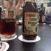Göller- Bier aus Zeil/Main in Franken