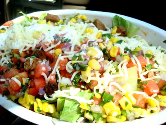 Steak Salad Bowl (without Chipotle dressing) | Yelp