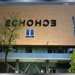 Schriftwortspiel an der Fassade