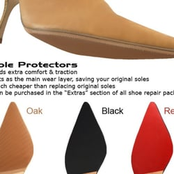 So next time you invest in footwear, get some advice from Cobblestone Quality Shoe Repair