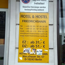 Hotel & Hostel Friedrichshain, Berlin