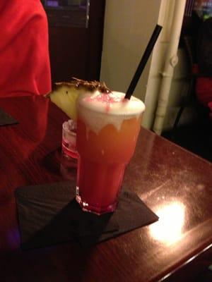 Ein leckerer Zombie-Cocktail