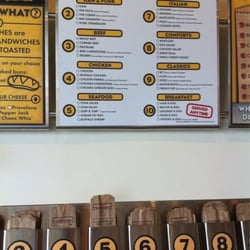 Which wich menu board and ordering bags sunset valley tx united