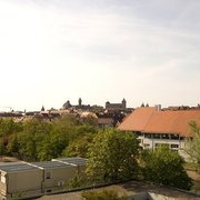 Blick vom Turm auf die Innenstadt…