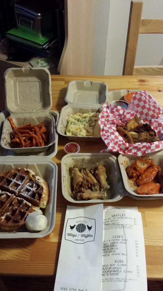 Waffles - Seattle, WA, United States. Sweet potato fries, bacon waffle ...
