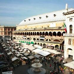 Piazza dell Erbe, Padova, Italy