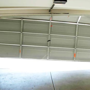 garage door came off track 1