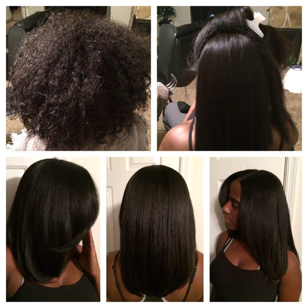 Natural Hair Styling Silk Press Yelp