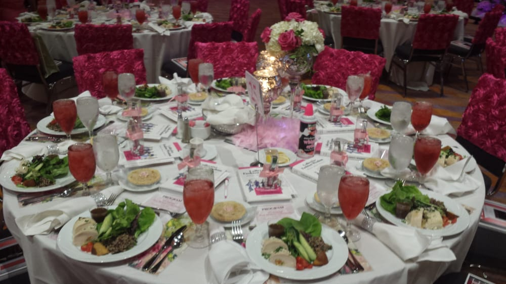 Table Setting For Lunch : ... Cincinnati, OH, United States. Pink Ribbon Luncheon 2014 Table setting